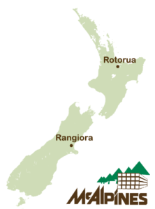 McAlpines Locations in New Zealand